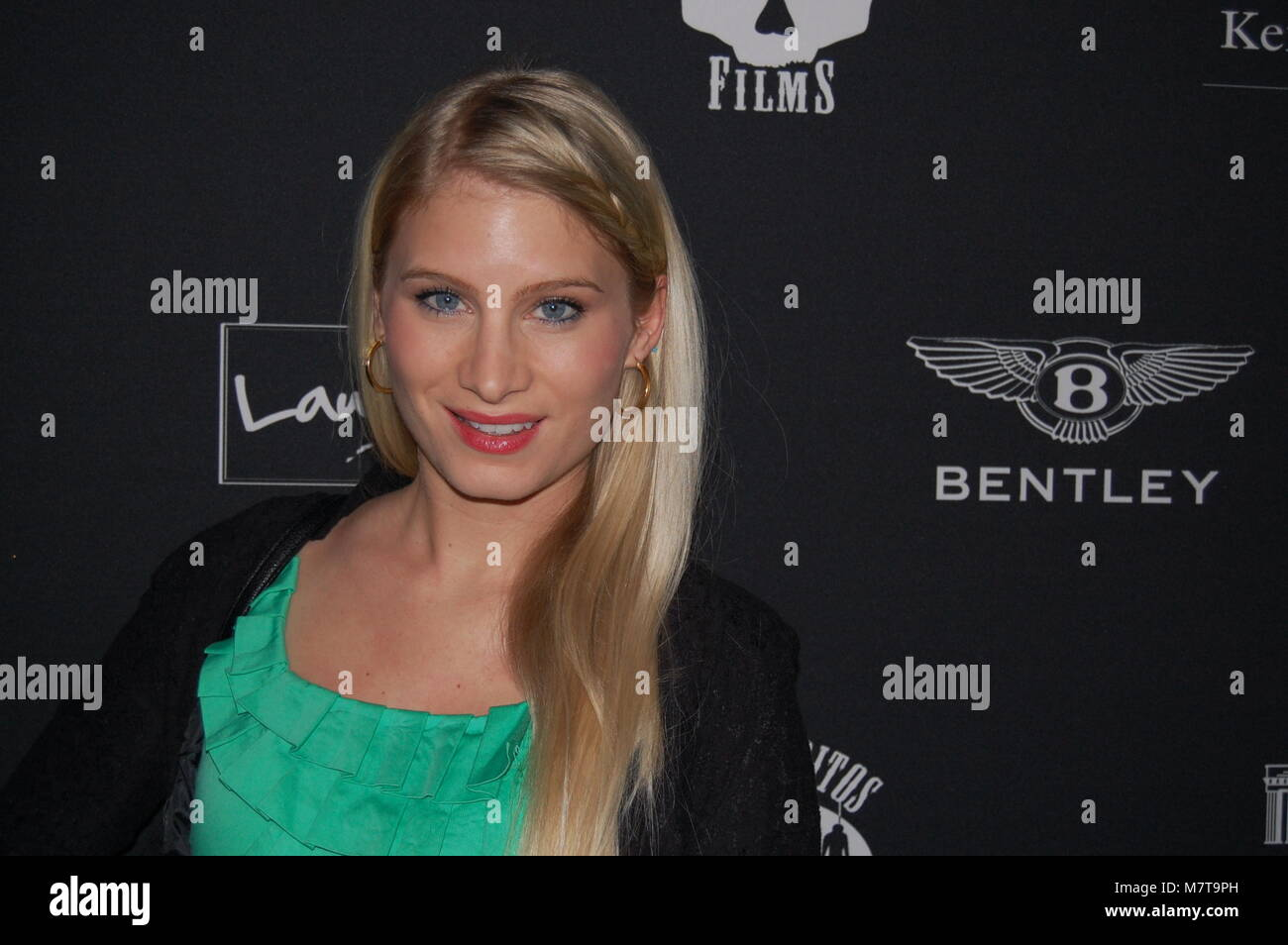 "Antonia Fuchs (""unter uns') Berlinale-Party 'LOS BANDITOS VA WILD' im Hotel Adlon Kempinski am Immagini Stock"