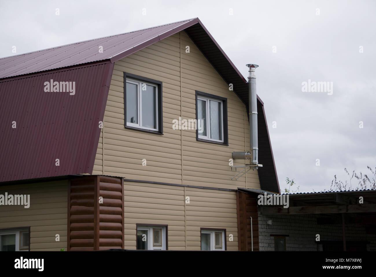 Ingressi Esterno Di Casa : Bell esterno di nuova costruzione casa di lusso giardino con