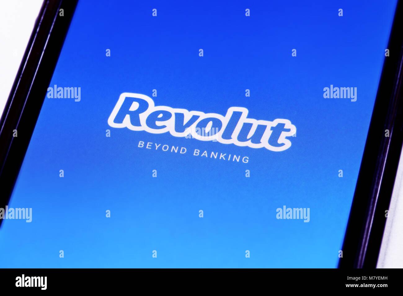 Revolut logo   branding. Revolut è un secure mobile basato su conto  corrente che consente 4df788e0d47d