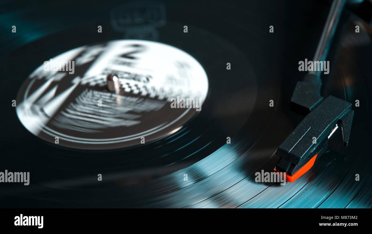 Le offerte Album, lanciata per la prima volta nel 1979 su vinile dalla etichetta 2 Tone presso l'altezza di Immagini Stock