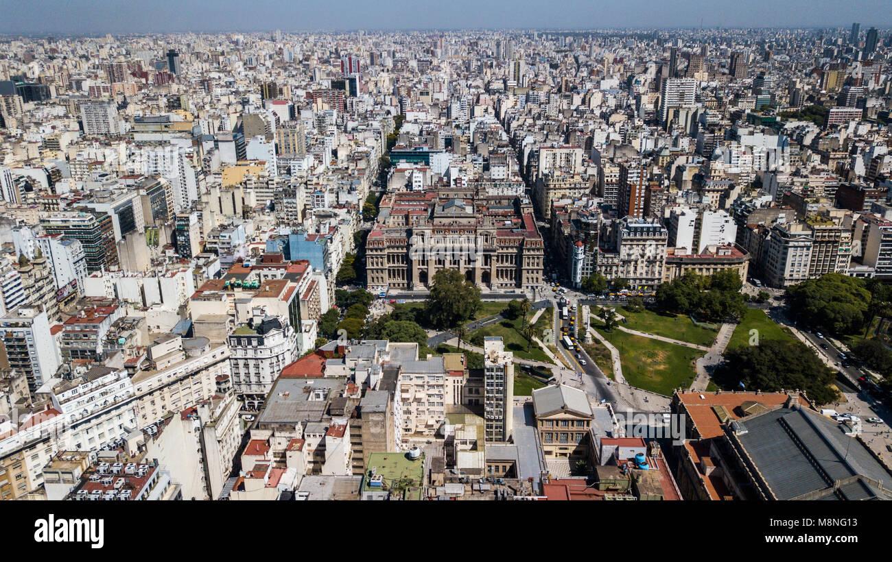 La Corte suprema di Argentina Corte Suprema de Justicia de la Nación Argentina Buenos Aires Immagini Stock