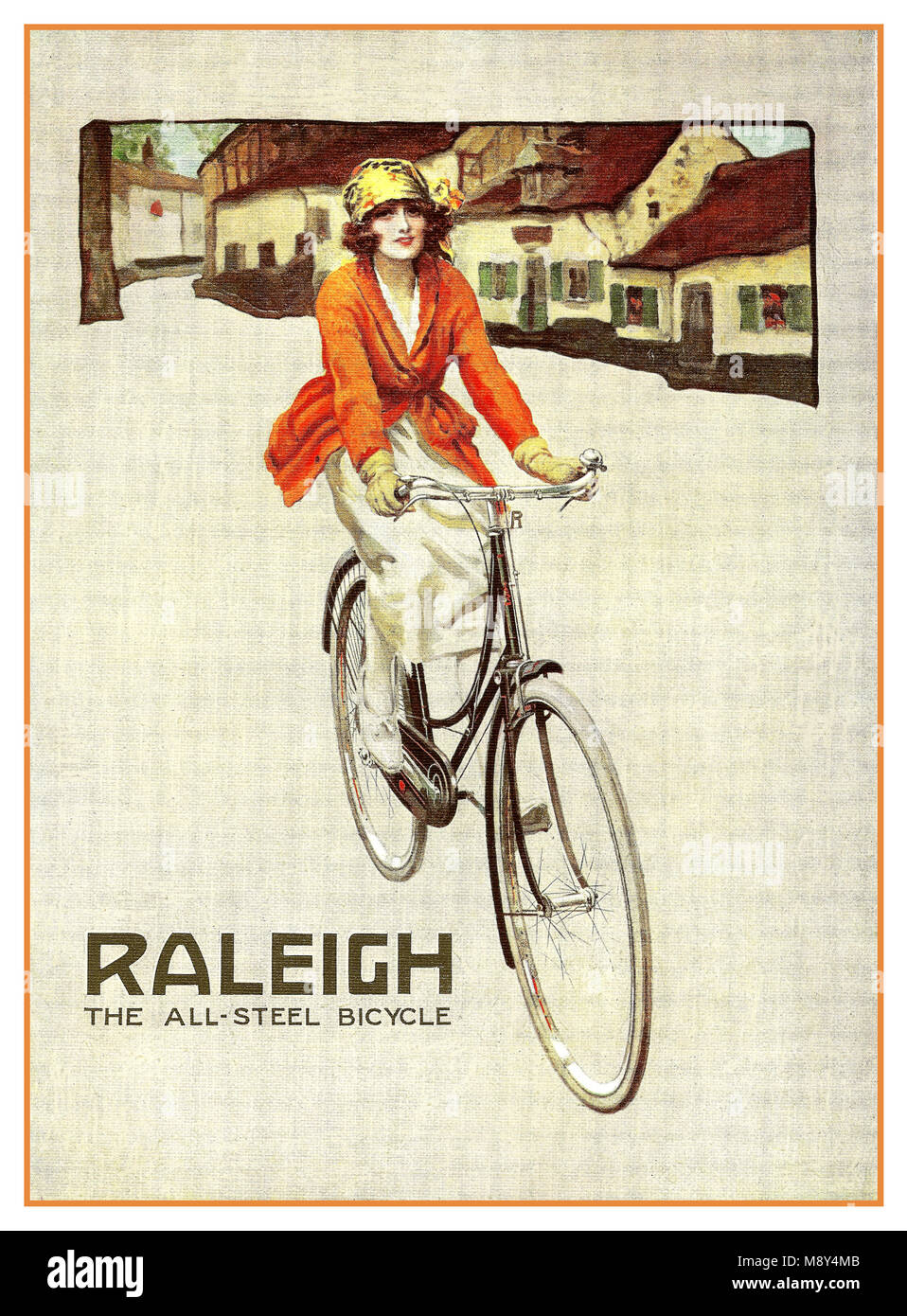 Bicicletta Pieghevole 14 Raleigh.Steel Vintage Bike Immagini Steel Vintage Bike Fotos Stock Alamy