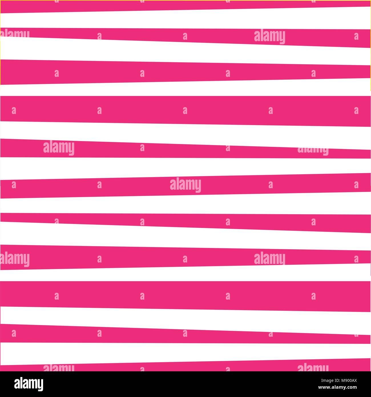 Carino Pattern Festosa Sfondo Con Colore Rosa E Bianco Strisce