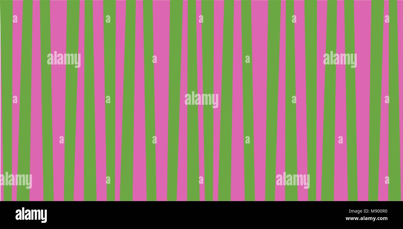 Carta Da Parati A Righe Verdi : Abstract verticale pattern a strisce di colore verde e rosa