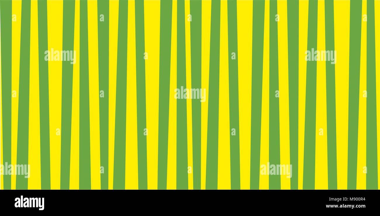 Carta Da Parati A Righe Verdi : Abstract verticale pattern a strisce verde e giallo stampa