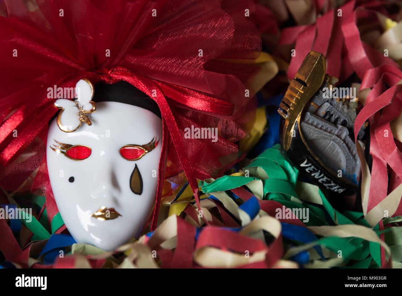 Harlequin a scacchi tradizionale Veneziana Masquerade adulto uomo Maschera Occhi
