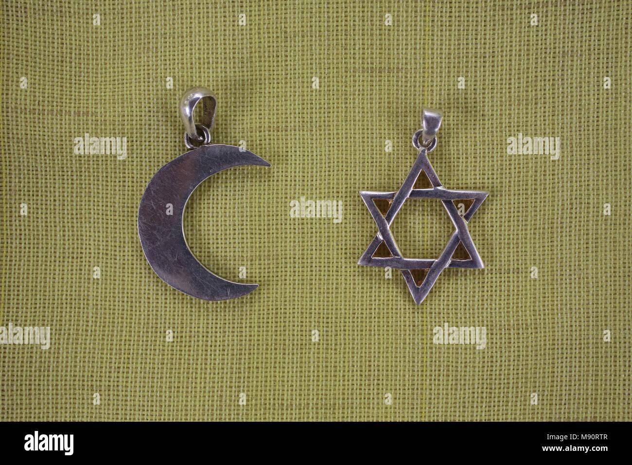 Simboli religiosi Immagini Stock
