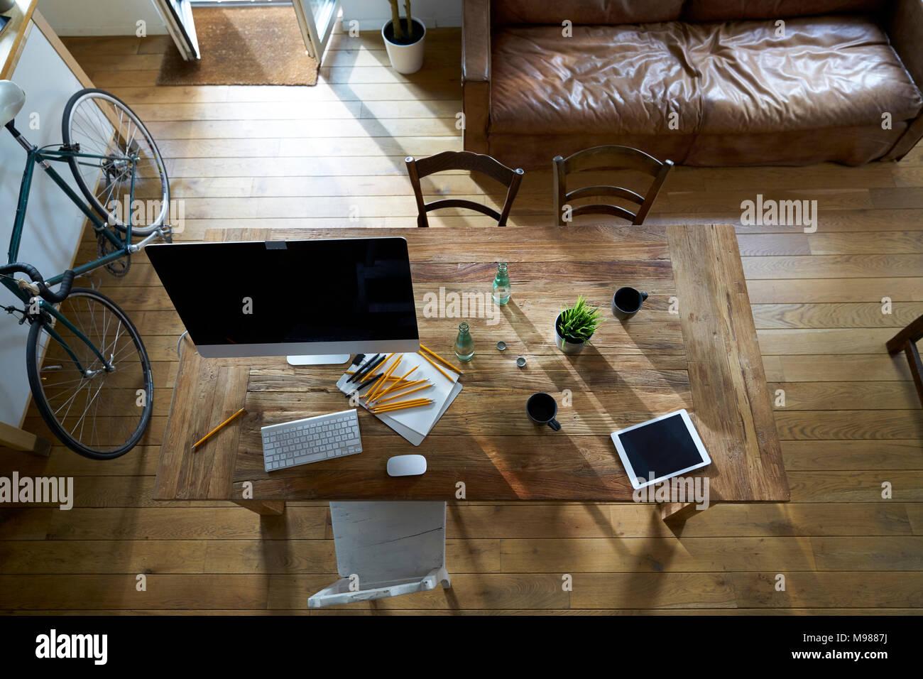 Ufficio moderno interno Immagini Stock