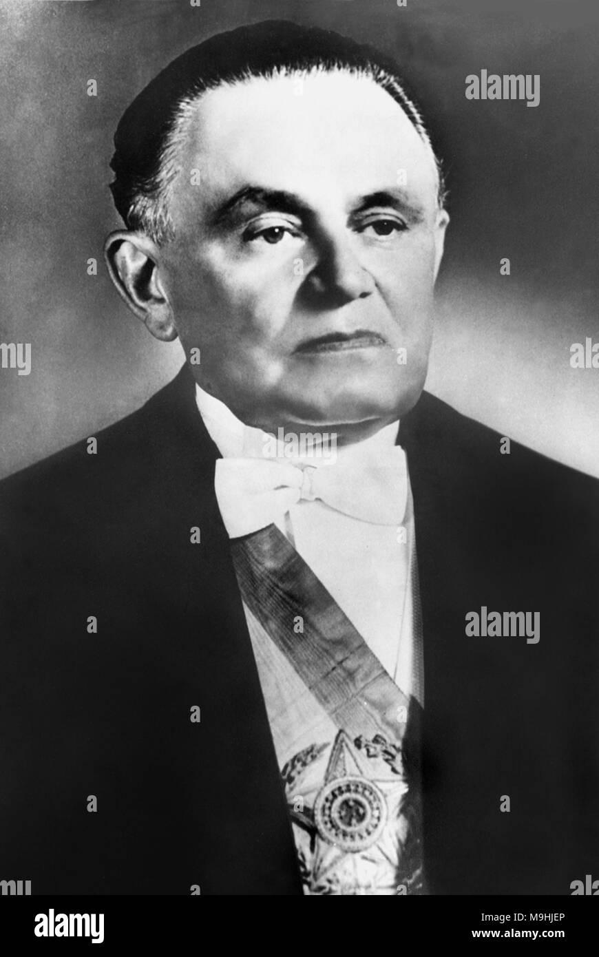 Humberto de Alencar Castelo Branco (1897 - 1967) brasiliana leader militare e politico. Ha servito come Presidente del brasiliano di governo militare dopo il 1964 colpo di stato militare. Foto Stock