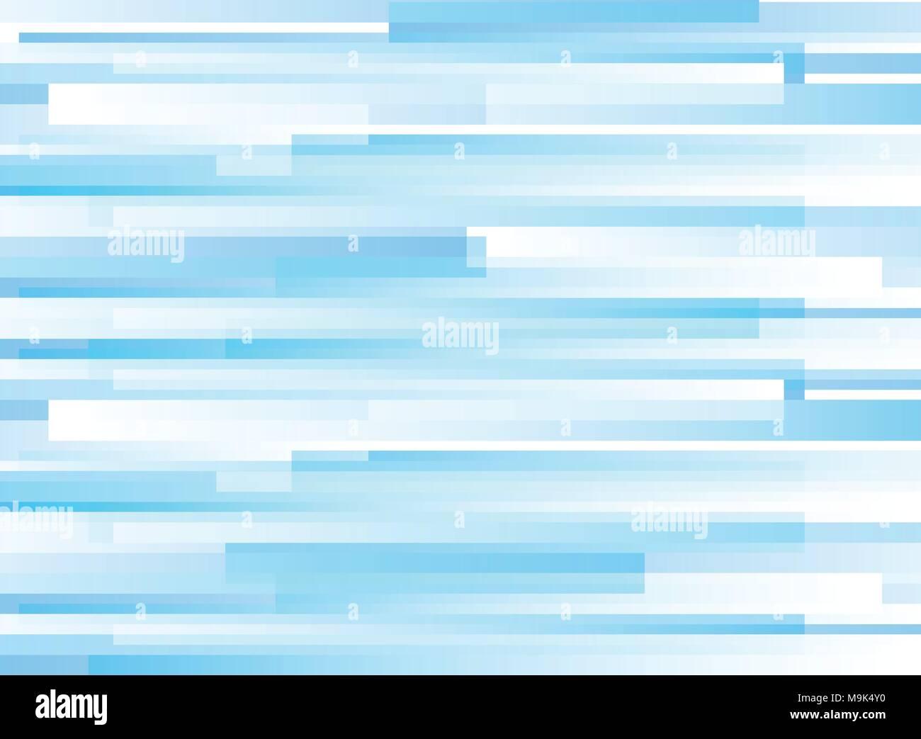 Abstract Pattern Orizzontale Azzurro Sovrapposizione Geometrica Su