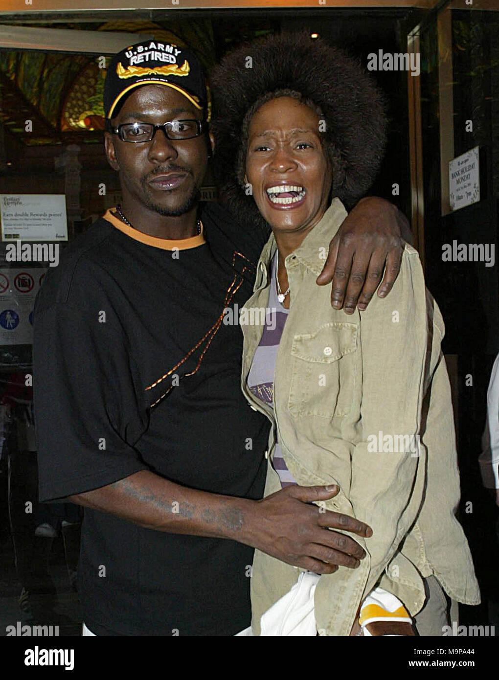 ROSWELL, GA - Luglio 26: Whitney Houston e Bobby Brown la figlia Bobbi  Kristina Brown, è morto.