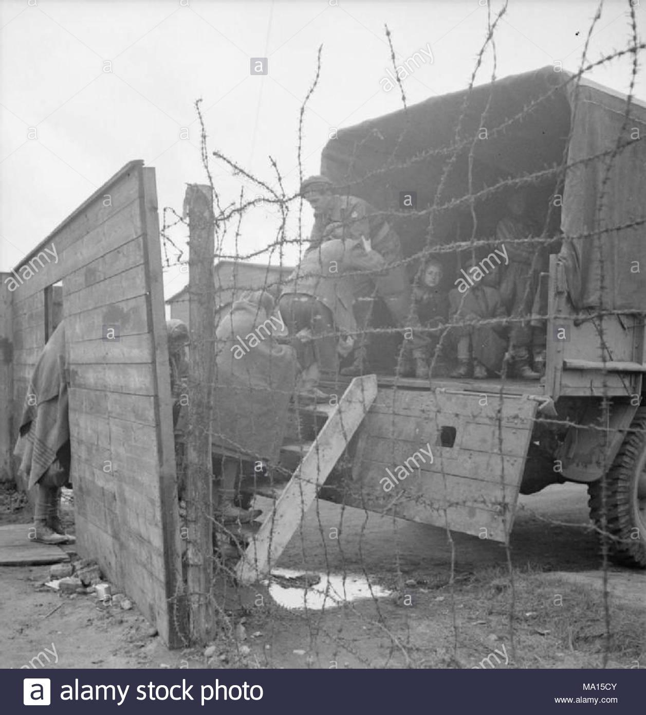 La liberazione di Bergen-belsen Campo di Concentramento, Maggio 1945 ...