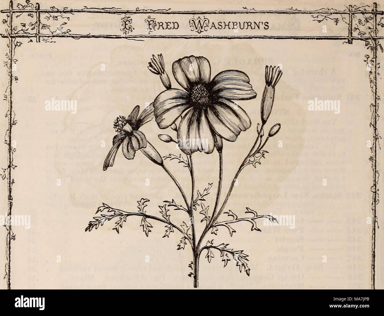 E. Fred Washburn del coltivatore amatoriale guida il fiore & cucina ...