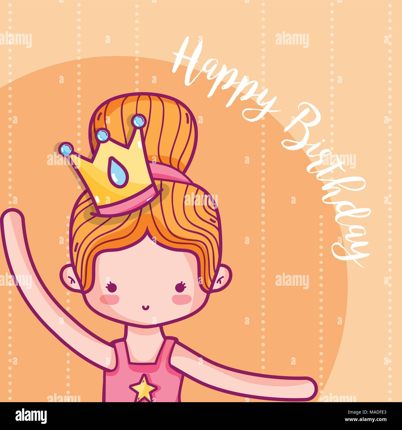 di buona qualità selezione straordinaria tra qualche giorno Buon compleanno card per la ragazza con la principessa cartoni ...