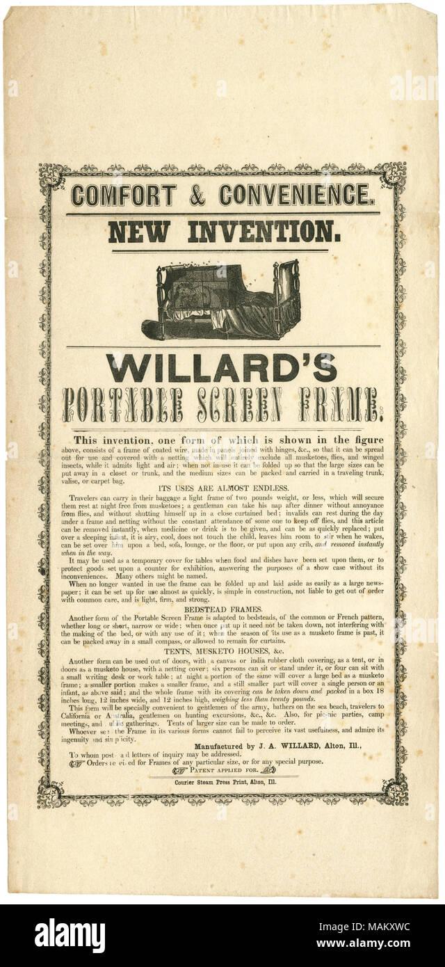 https://c8.alamy.com/compit/makxwc/fabbricato-da-ja-willard-alton-illinois-include-illustrazione-della-schermata-del-letto-titolo-la-pubblicita-per-la-nuova-invenzione-willard-portatile-del-telaio-dello-schermo-per-uso-come-tende-musketo-sic-case-e-bagnanti-in-mare-beach-ca-1850-circa-1850-vapore-di-corriere-premere-il-pulsante-di-stampa-makxwc.jpg