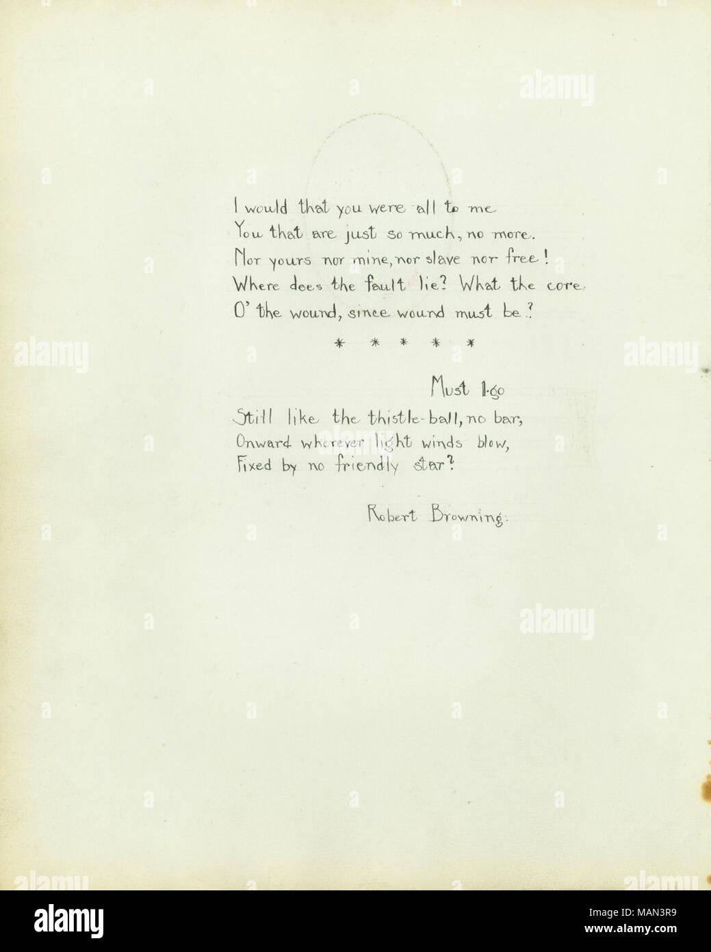 Poesia Di Robert Browning Titoloil Tornio Del Vasaio Volume 2