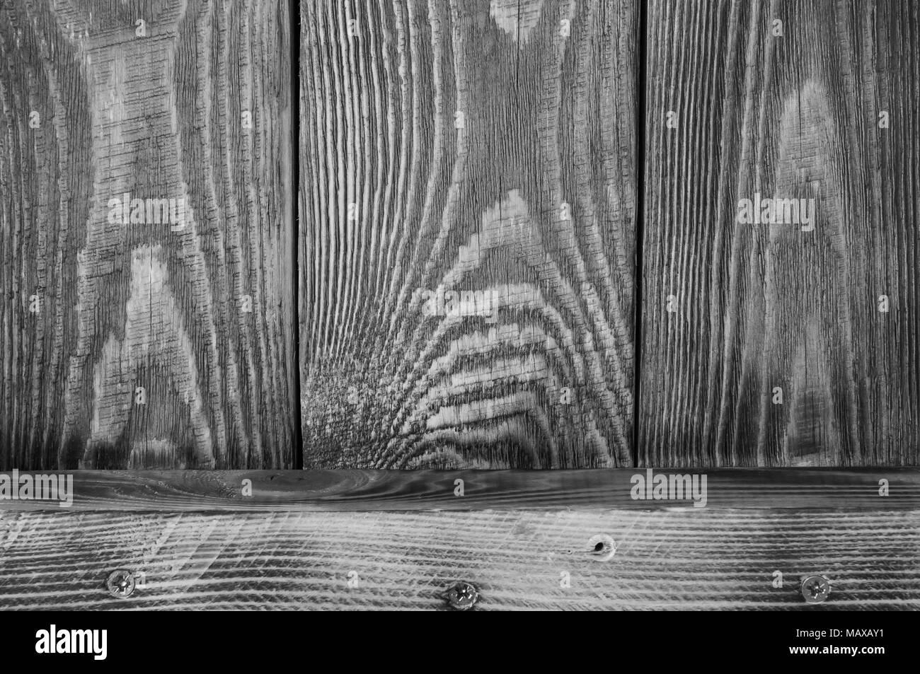 Legno Bianco E Nero : Bianco e nero tessiturali sfondo di tavole di legno e una scheda
