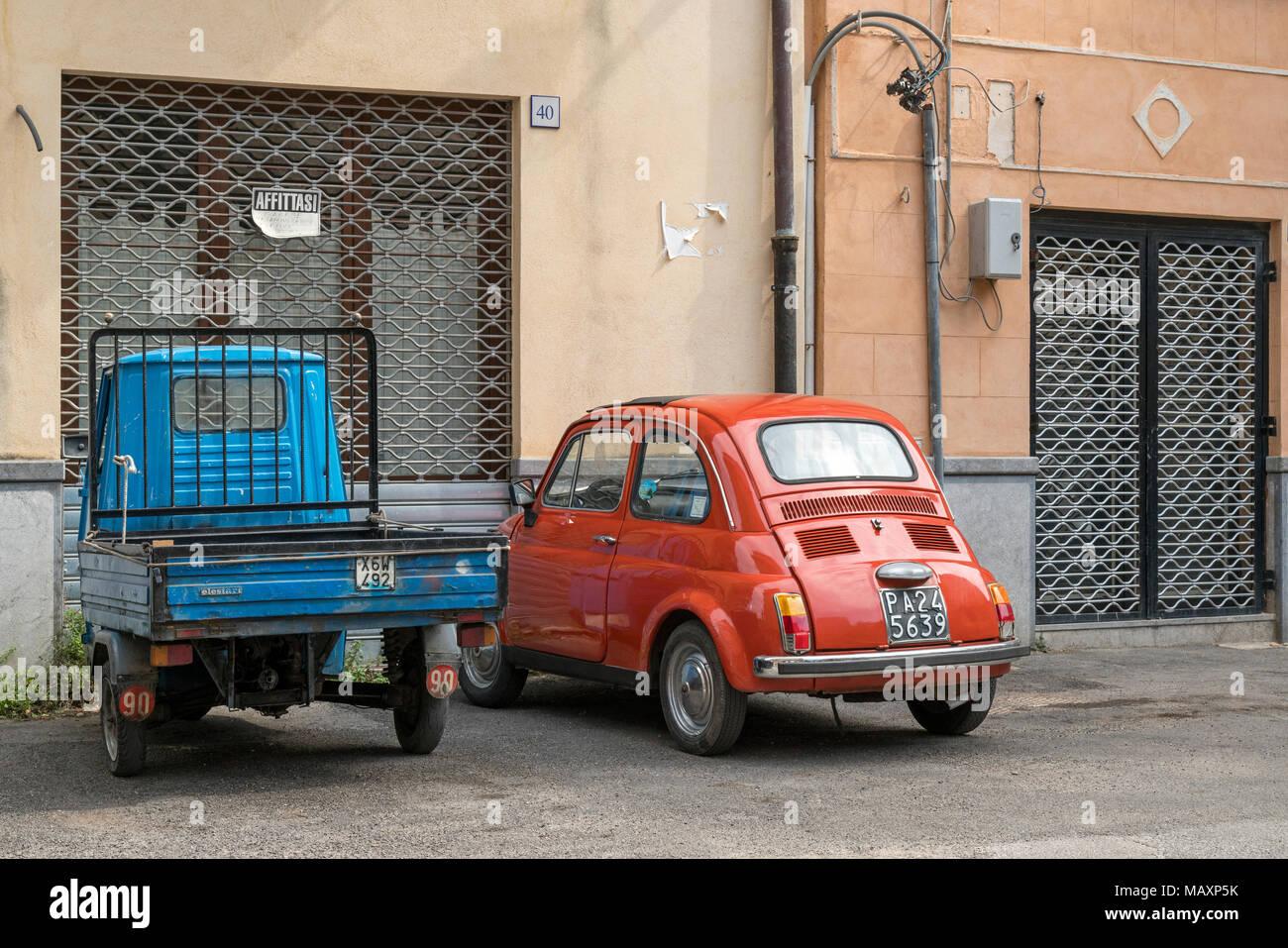 Old italian fiat 500 cinquecento immagini old italian for Garage fiat porto vecchio