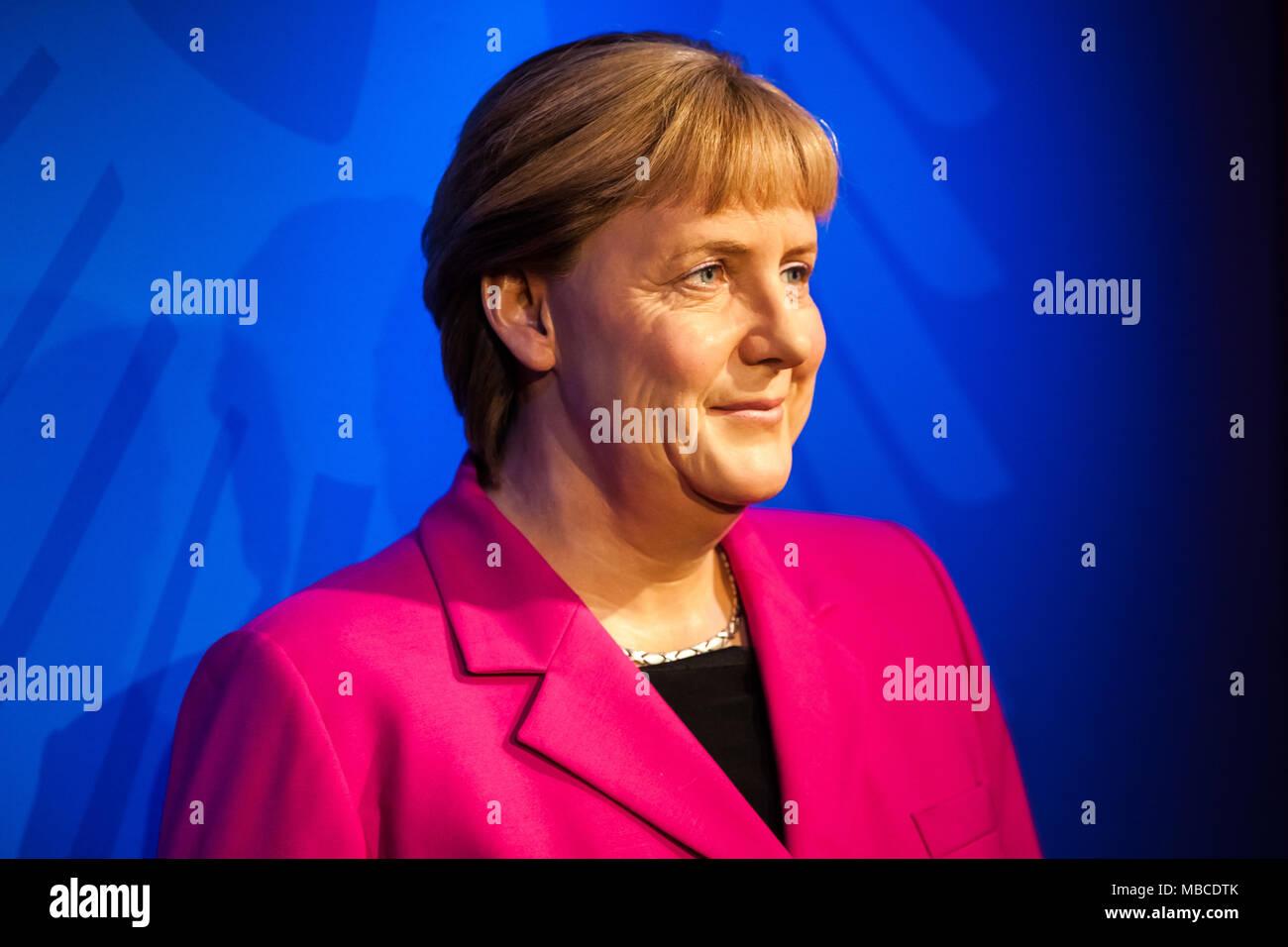 Museo Delle Cere Amsterdam.Cera Figura Di Angela Merkel Nel Museo Delle Cere Di Madame Tussauds