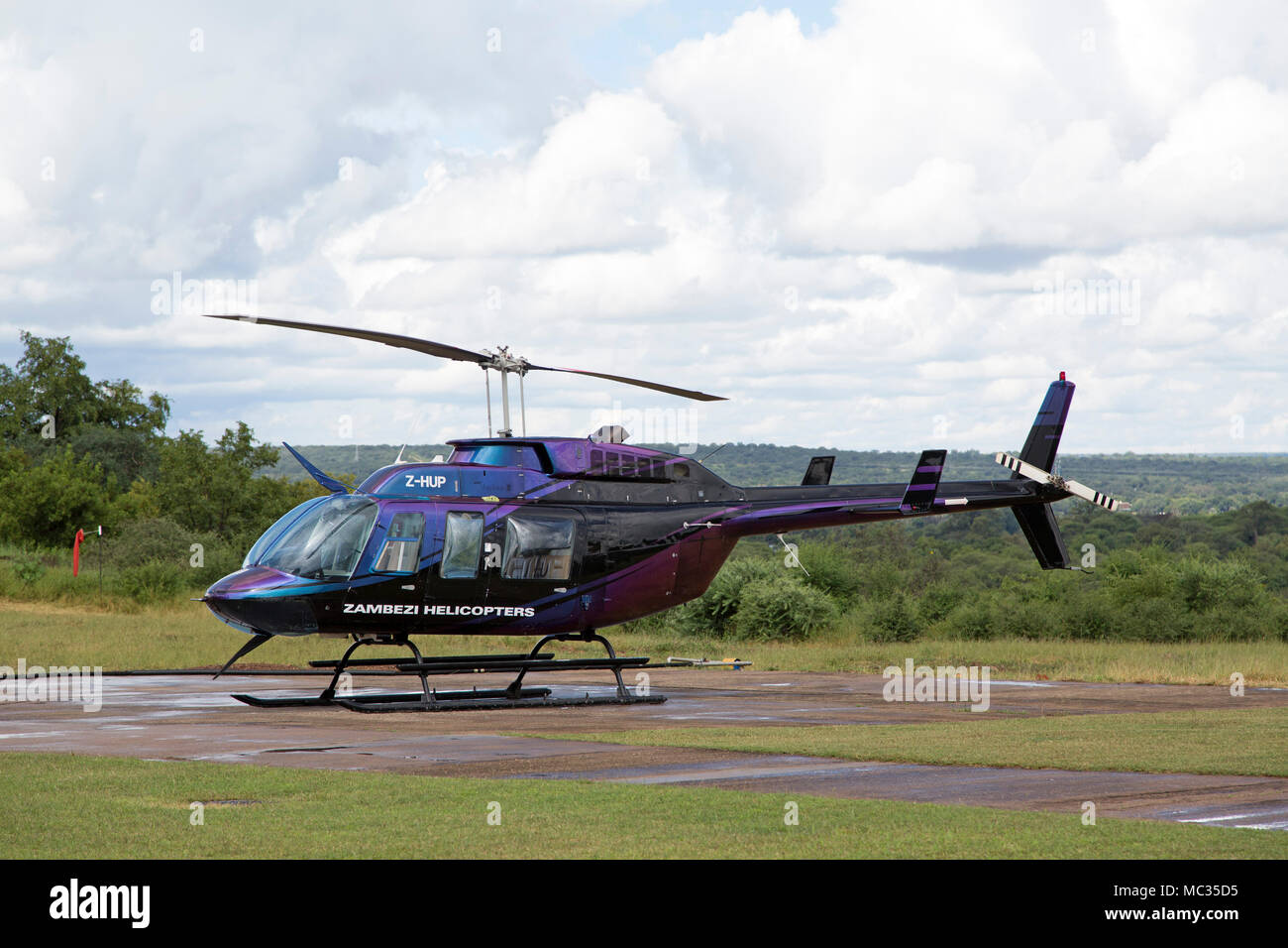 Elicottero Usato : Elicottero usato per il volo degli angeli escursione su victoria