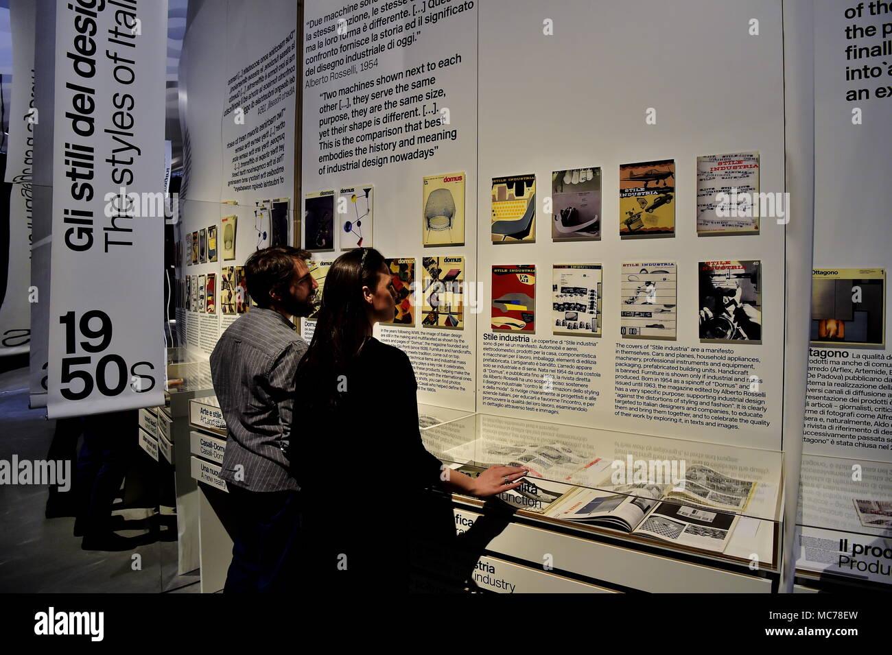 Mostra Design Milano 2018 inaugurazione della mostra di design italiano storie per la