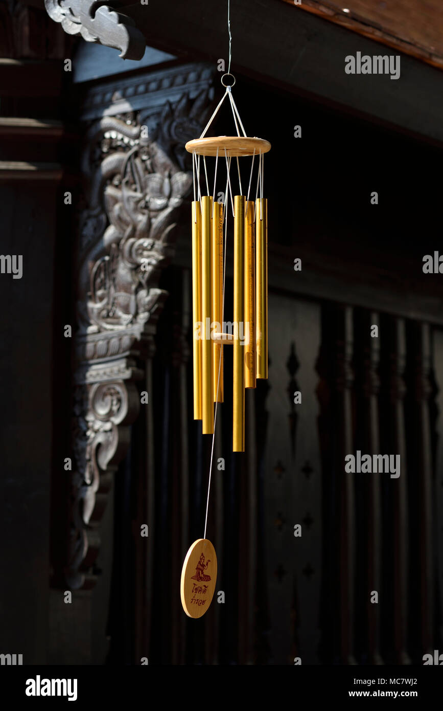 Buddha Argento appese Chimes
