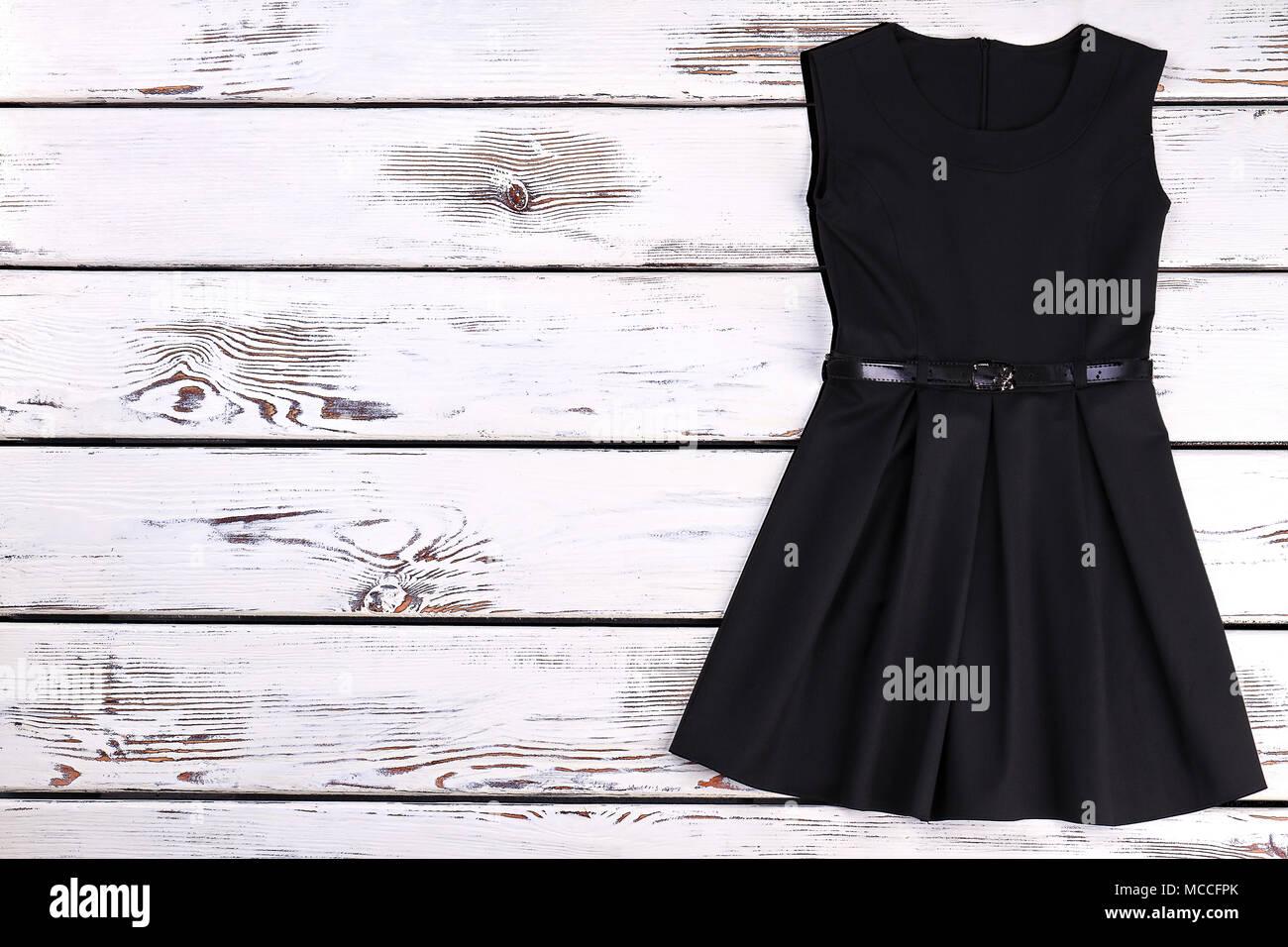 detailed look 44e22 e8ad2 Carino il toddler ragazze vestito nero. Bella di alta ...