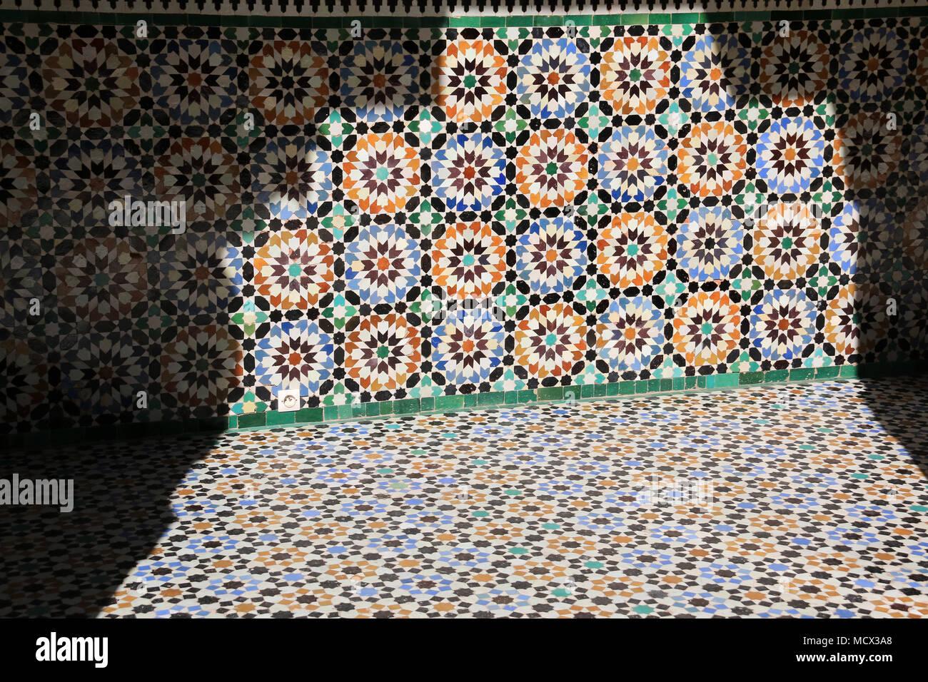 Piastrelle marocchine tradizionali immagini & piastrelle marocchine