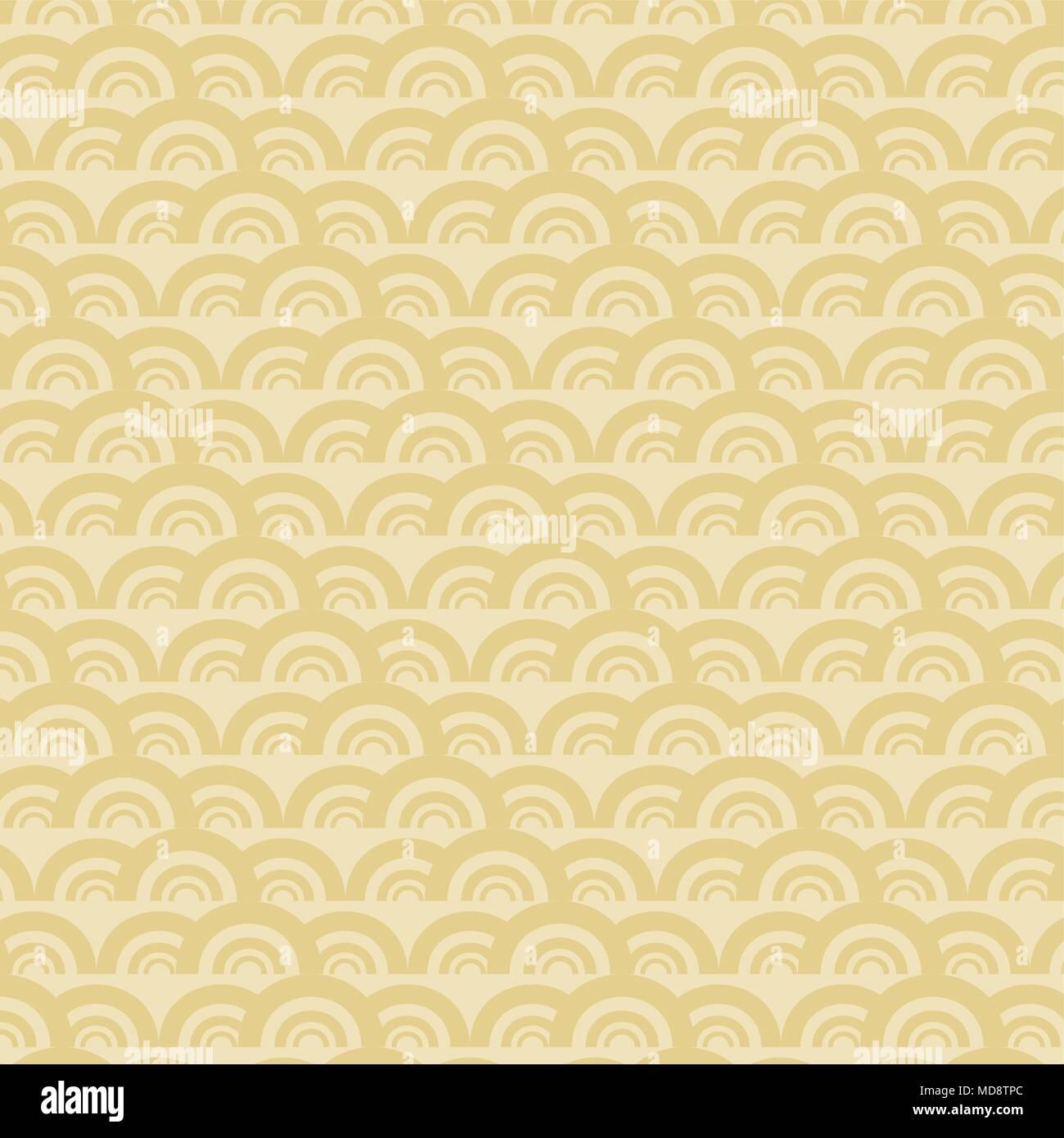 Sfondo con forme circolari design colorato. illustrazione vettoriale Immagini Stock
