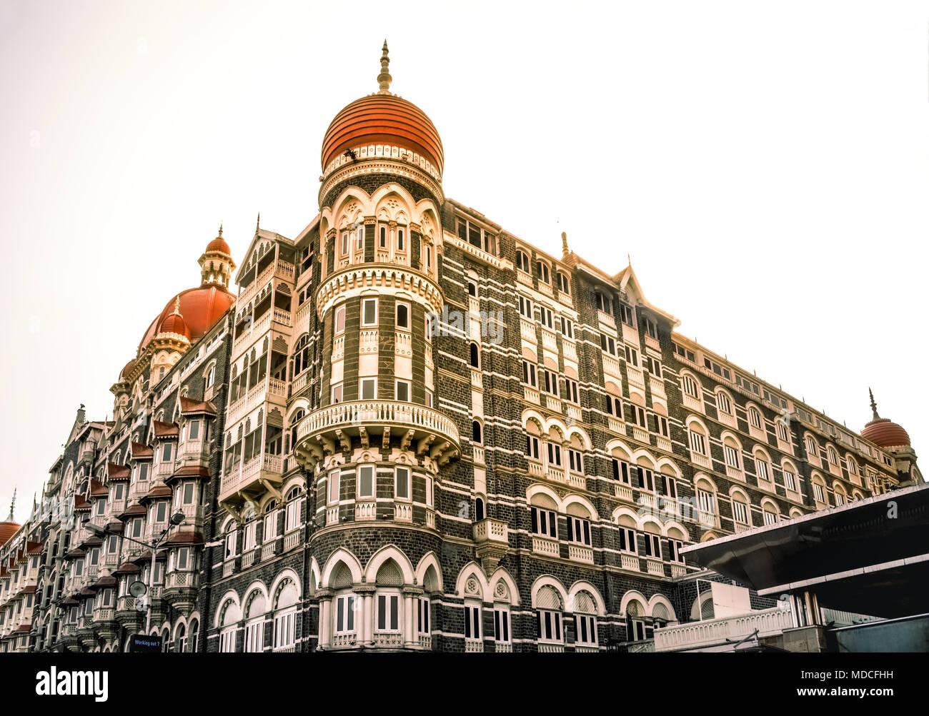 Il Taj Mahal Palace Hotel, Mumbai Immagini Stock