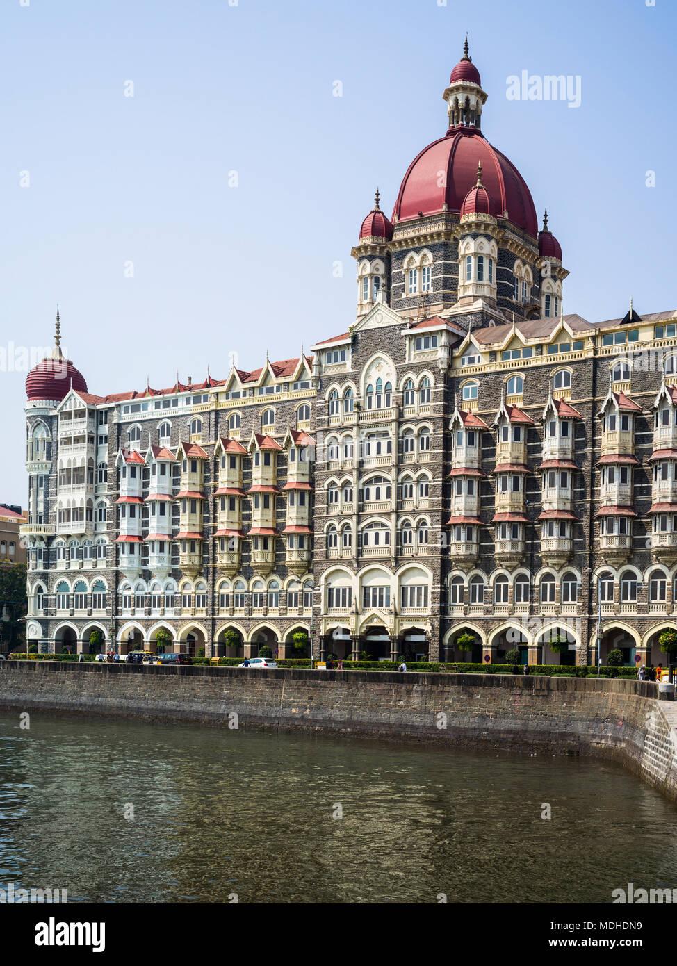 Il Taj Mahal Palace Hotel; Mumbai, Maharashtra, India Immagini Stock