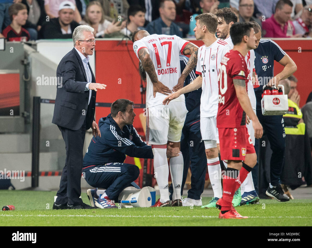 Allenamento calcio Bayer 04 Leverkusen nuova