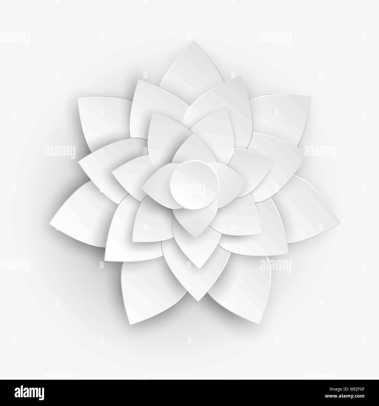 Fiori 3d Carta.Fiore Di Carta 3d Fiore Fiore Di Carta Pastello Tavolozza