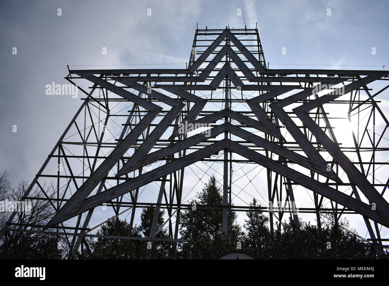 Roanoke Star Immagini Stock