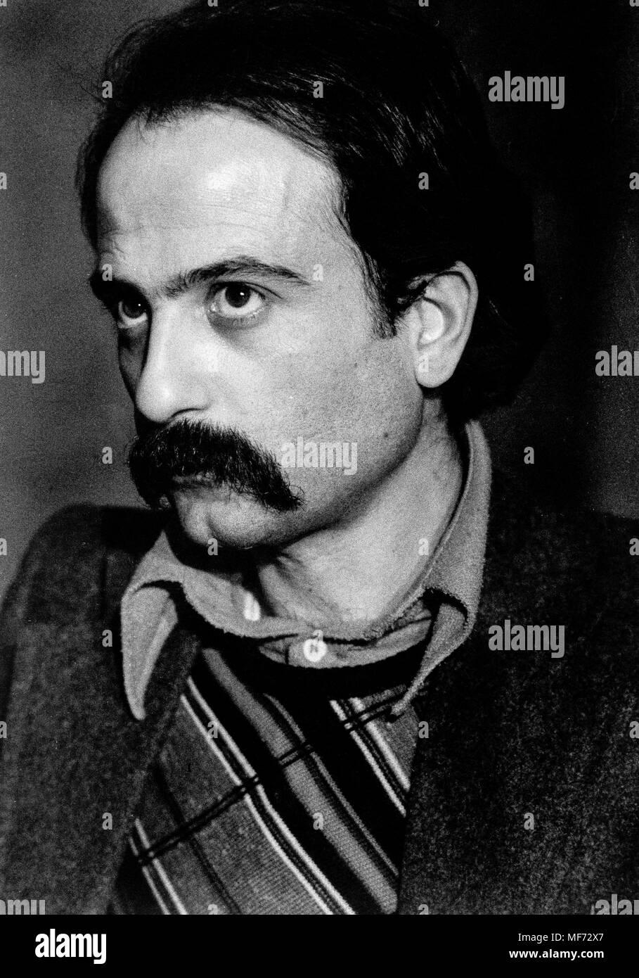 Aldo rescio, 70s Immagini Stock