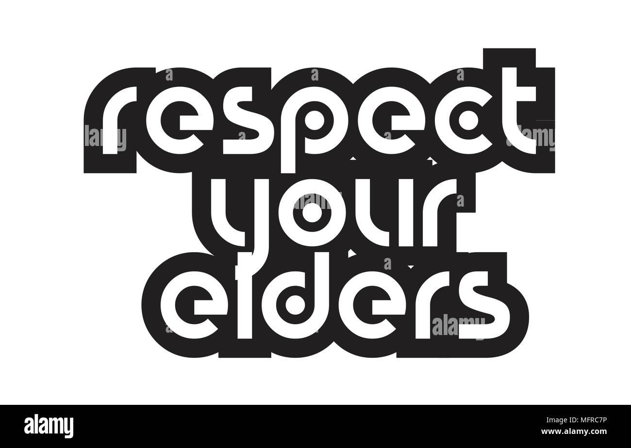 Ispirando Preventivo Rispetto I Vostri Anziani Adatto Come Una