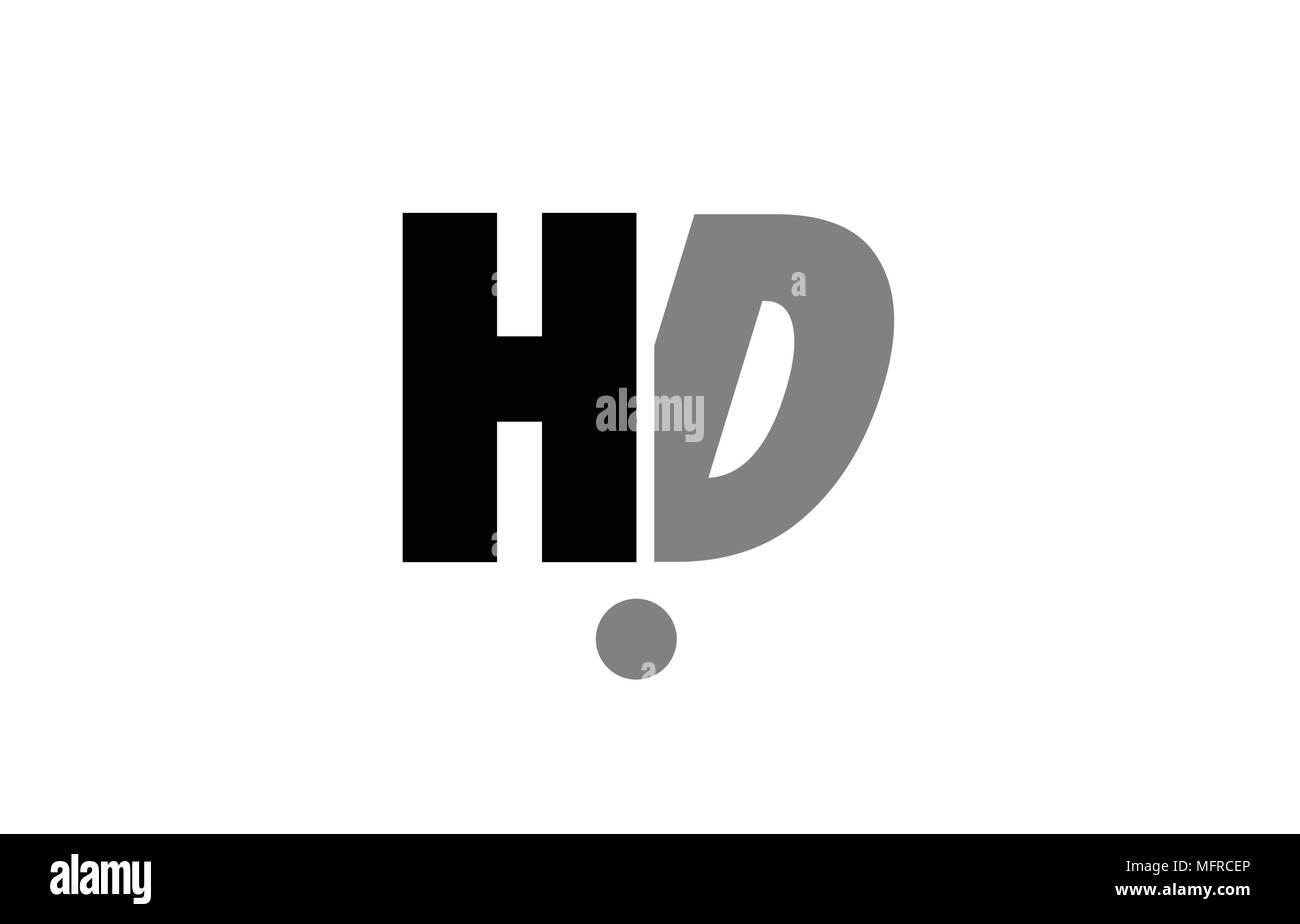 Creative Icona Logo Combinazione Di Lettere Dellalfabeto Hd H D In