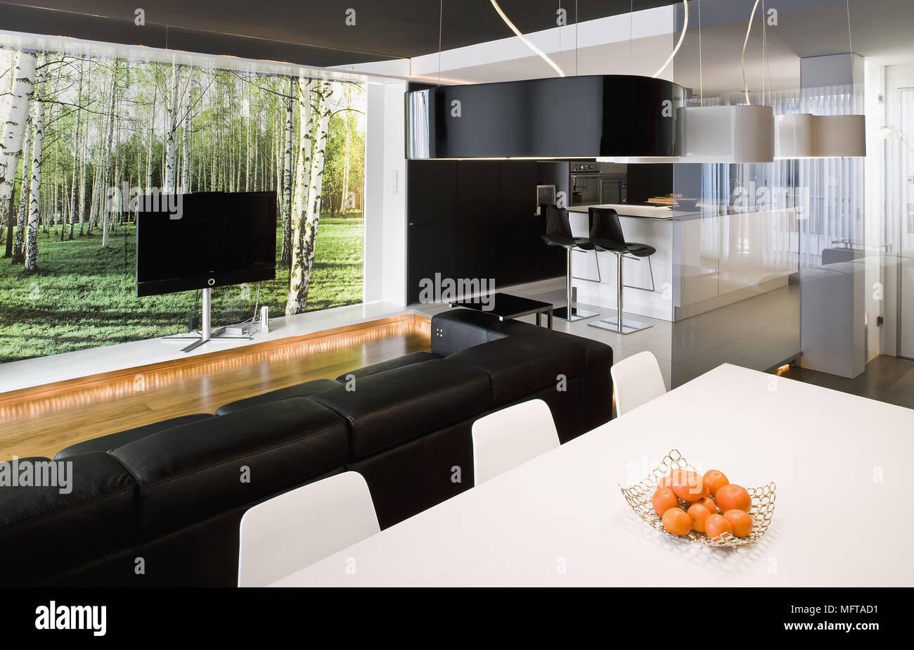 Tavolo Dietro Al Divano : Idee per arredare un salotto molto piccolo grazia