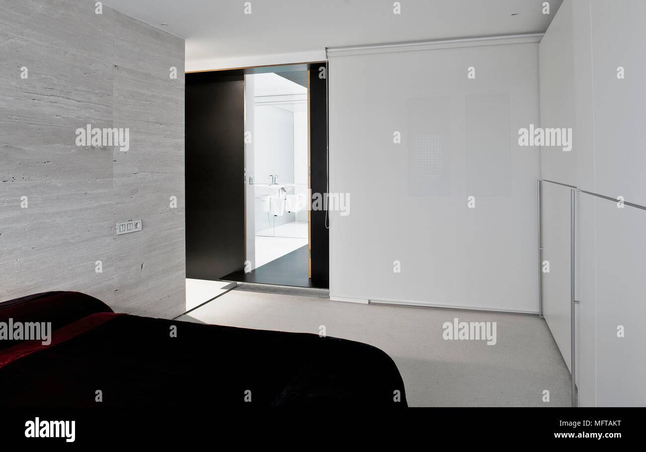 Camera Da Letto Stile Minimalista : Letto matrimoniale in stile minimalista moderno camera da letto foto