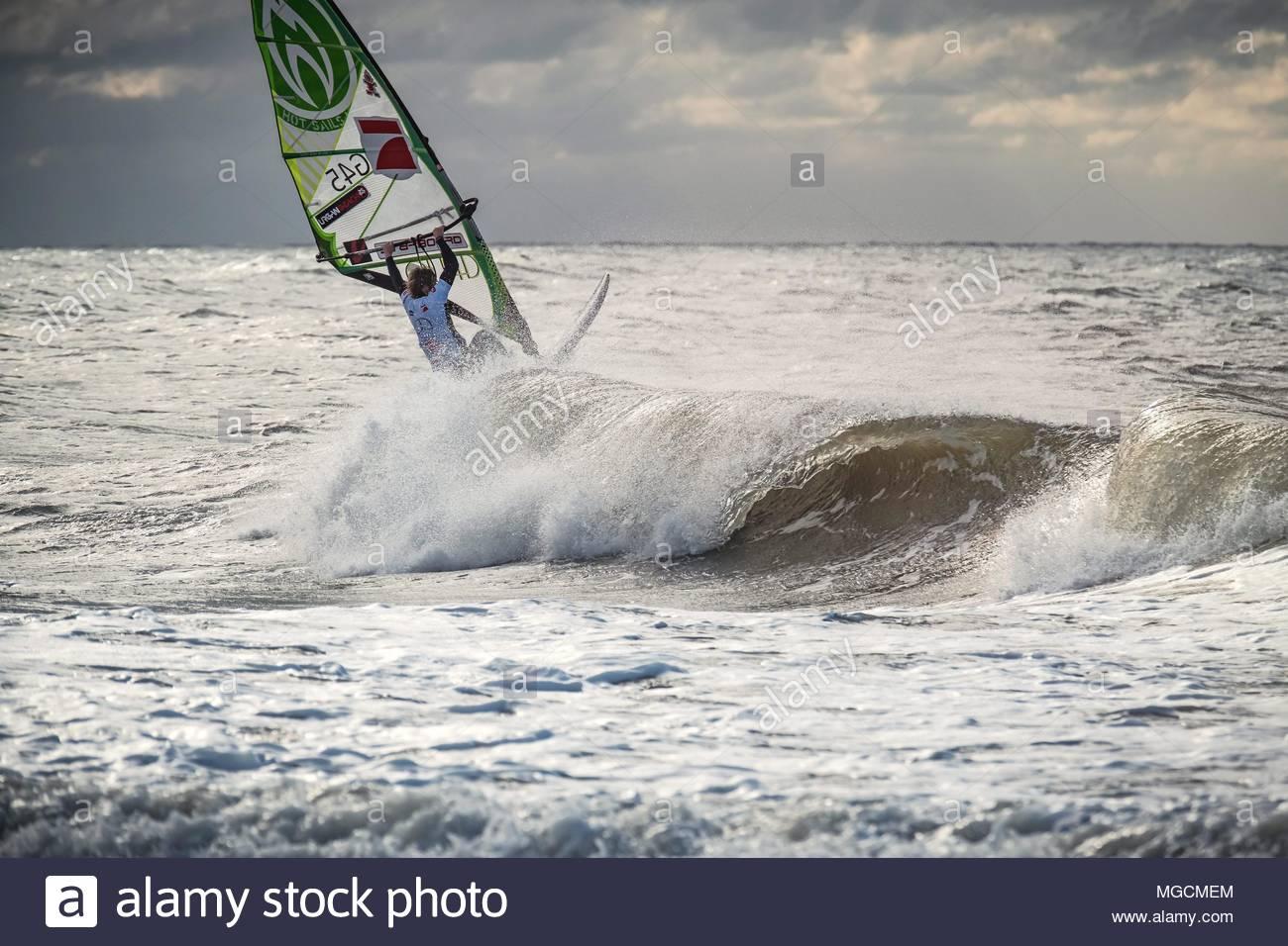 Windsurfworldcup 2016 Sylt Immagini Stock