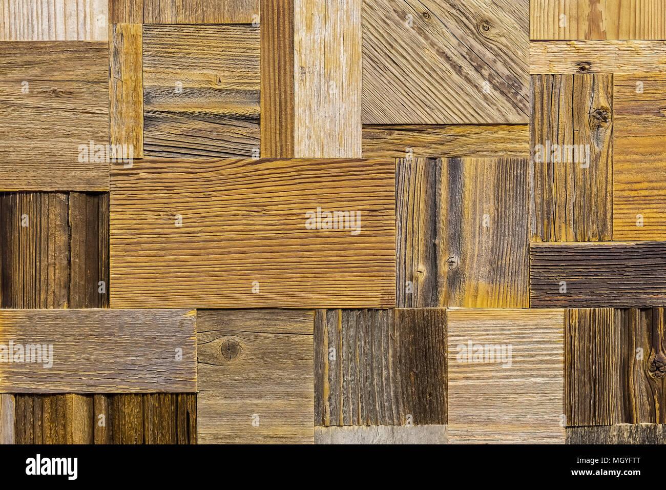 Tecnica di costruzione in legno diversi brown in vero legno