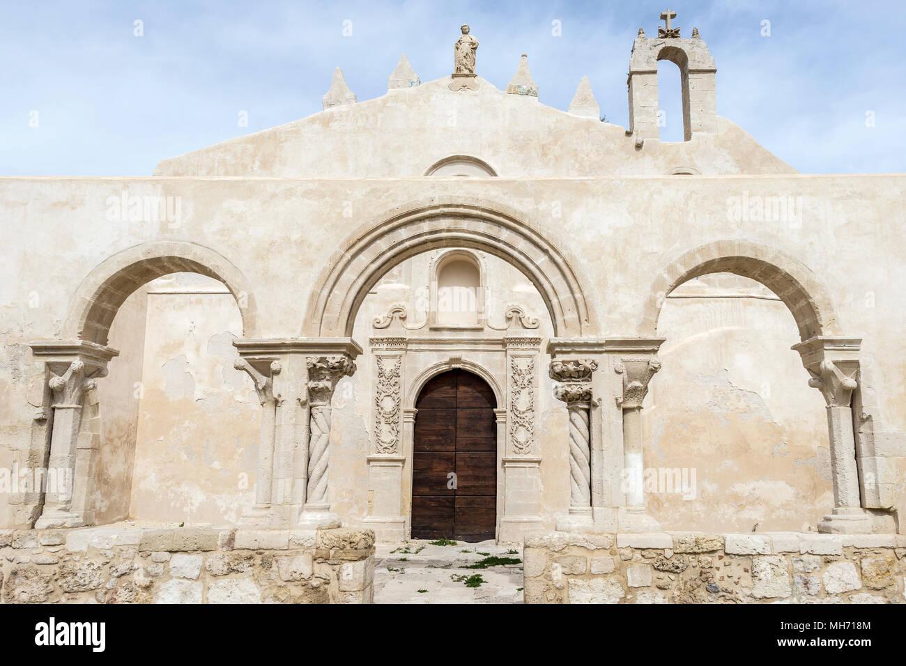 Chiesa di San Giovanni alle catacombe chiesa, Siracusa, Sicilia. Immagini Stock