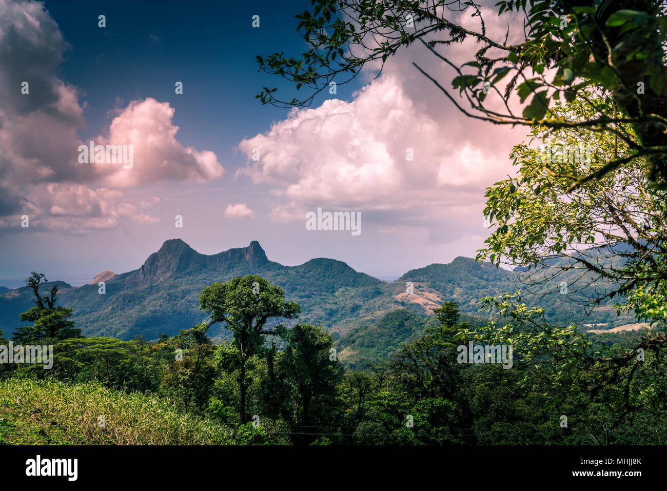 Paesaggio di Panama Immagini Stock