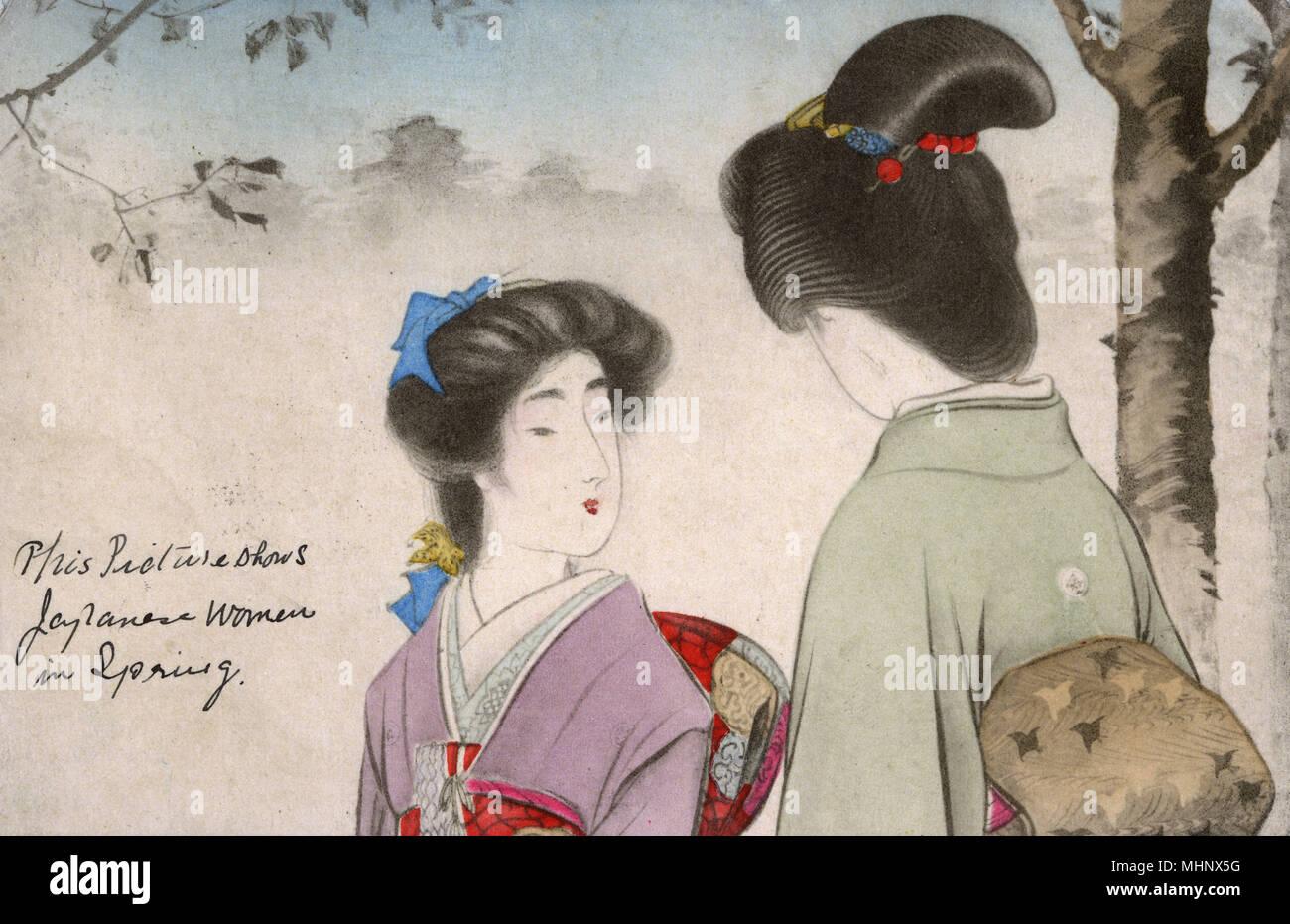 Japan geisha 1900s immagini japan geisha 1900s fotos for Disegni tradizionali giapponesi