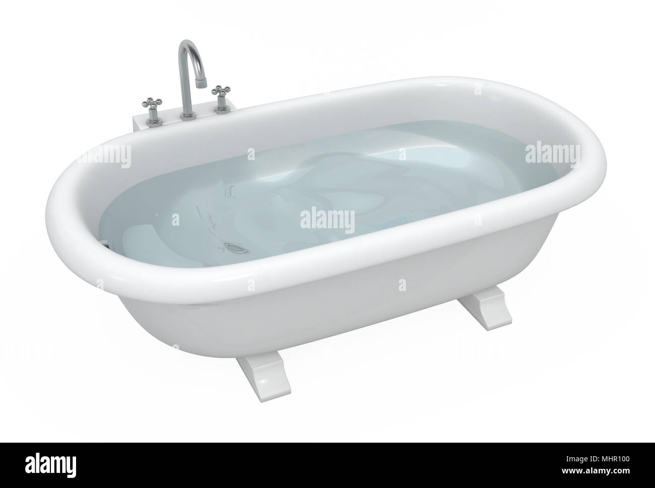 Bagno completo in legno cemento e bianco u foto stock