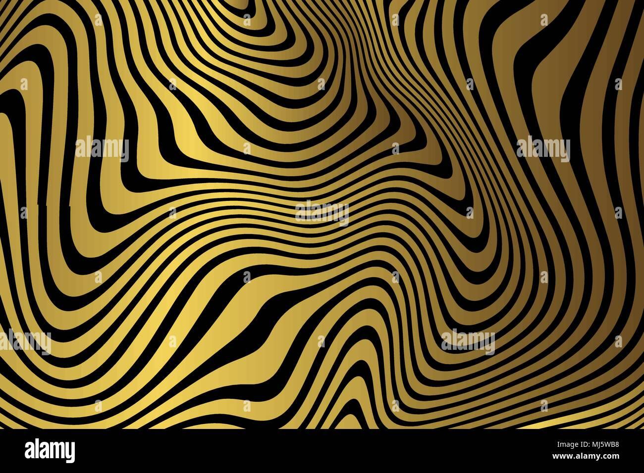 Carta Da Parati Moderna Texture.Golden Sfondo Marmo Oro Zebra Texture Il Design Moderno Modello