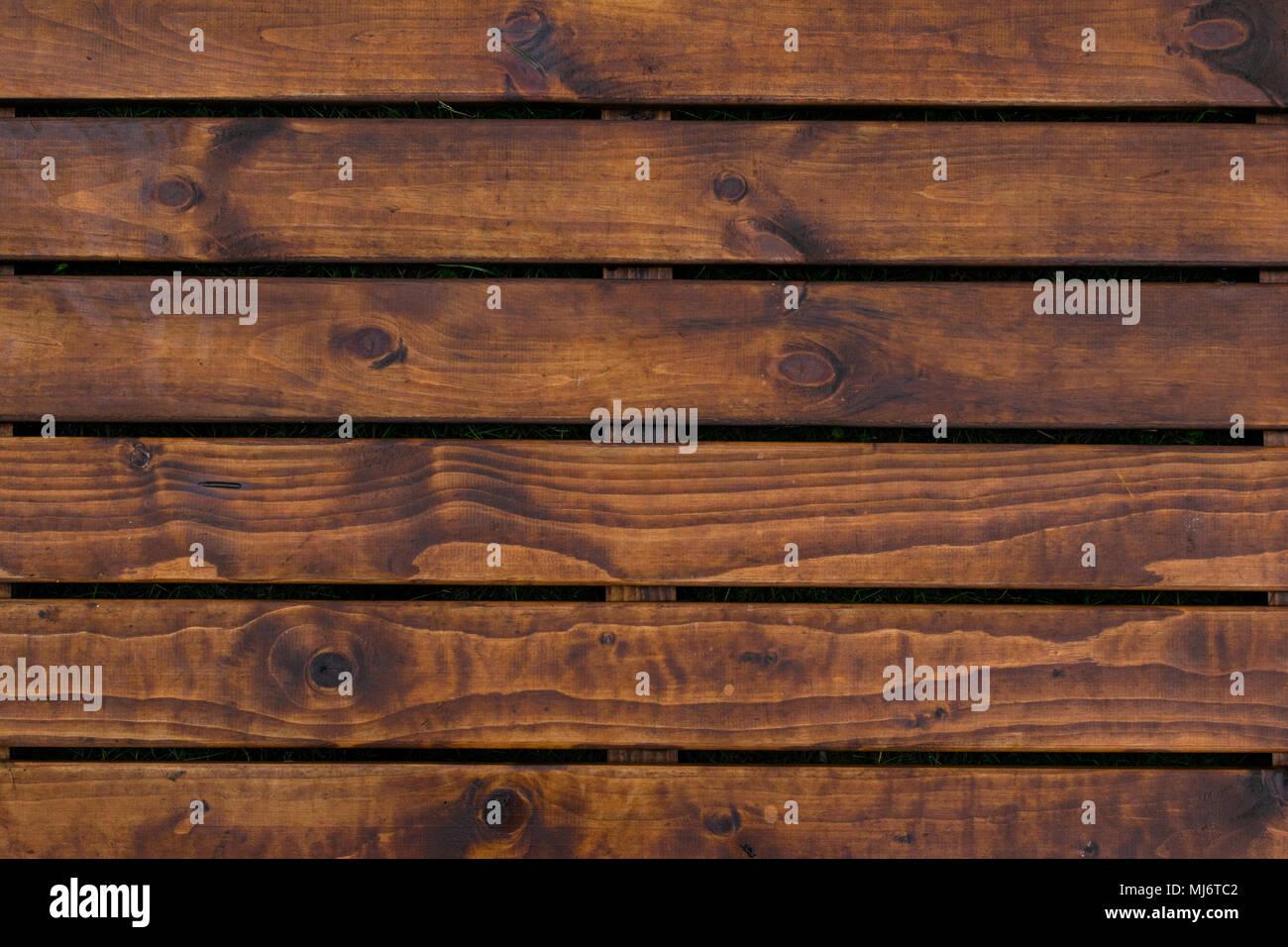 Naturale degli interni in legno con pannelli a muro la texture di