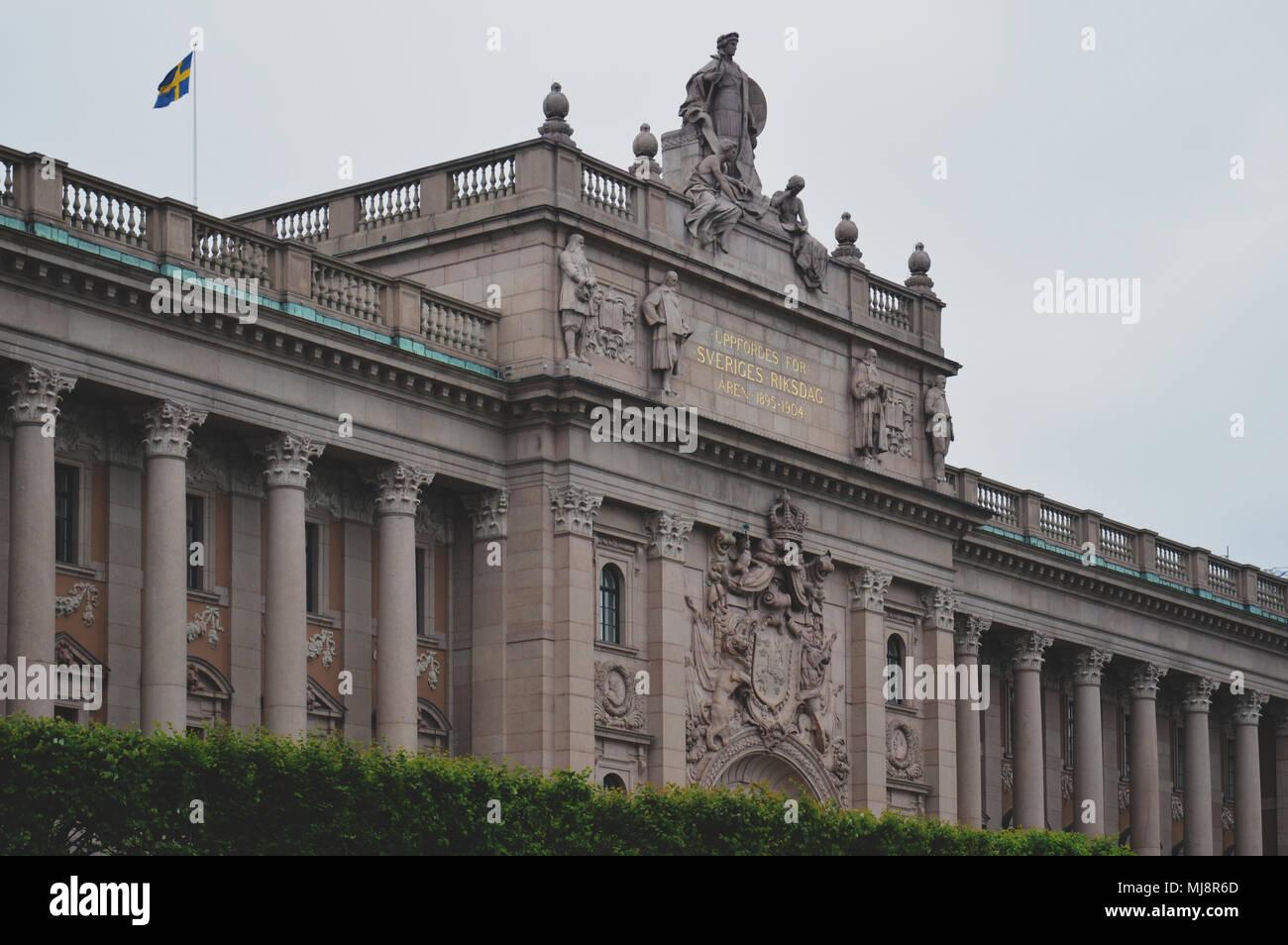 La casa del parlamento di svezia costruito in stile for Immagini del parlamento