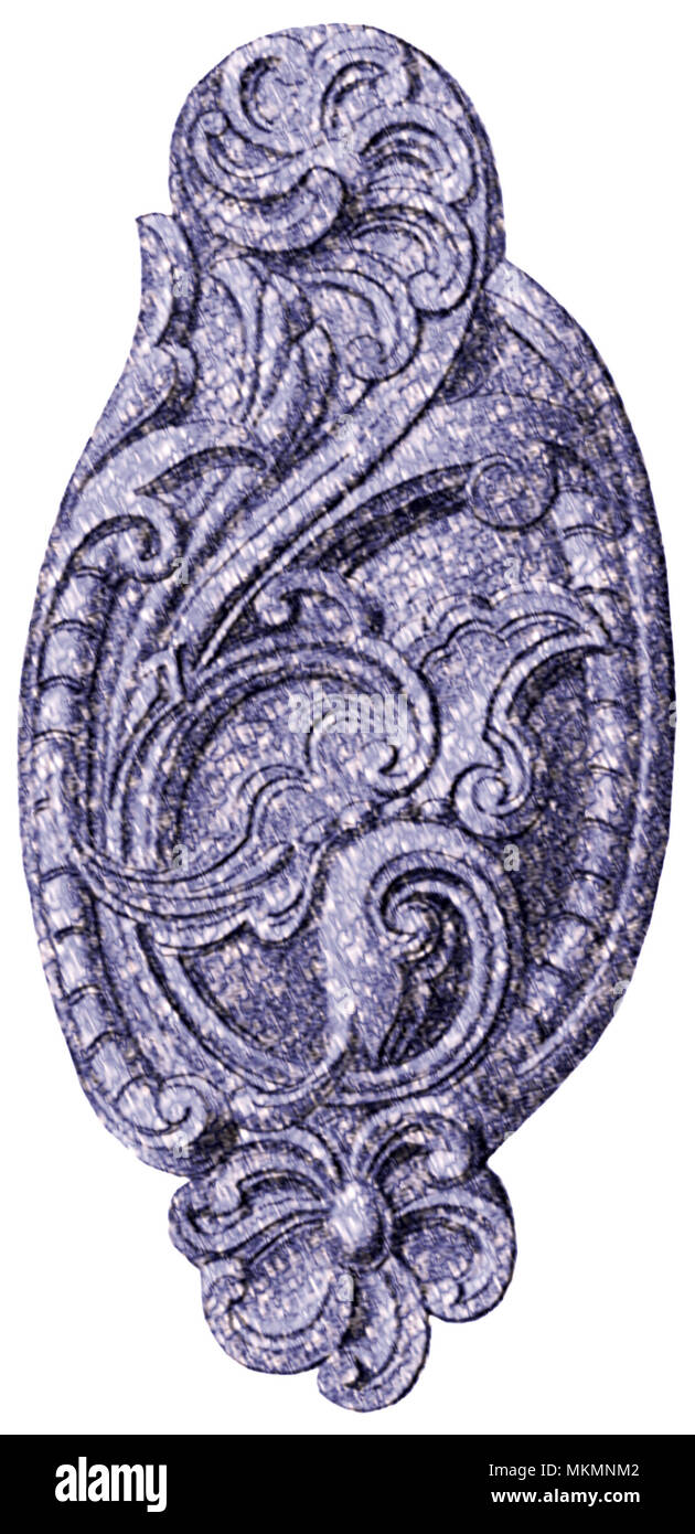 Disegno Floreale Stilizzato Foto Immagine Stock 184238210 Alamy