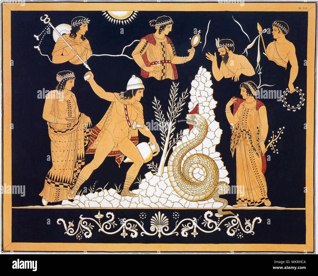 Pittura Etrusca Immagini E Fotos Stock Alamy